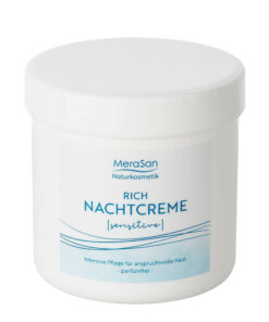 Rich Nachtcreme sensitive 250 ml MeraSan